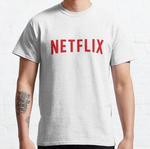Logo Netflix rouge T-shirt classique
