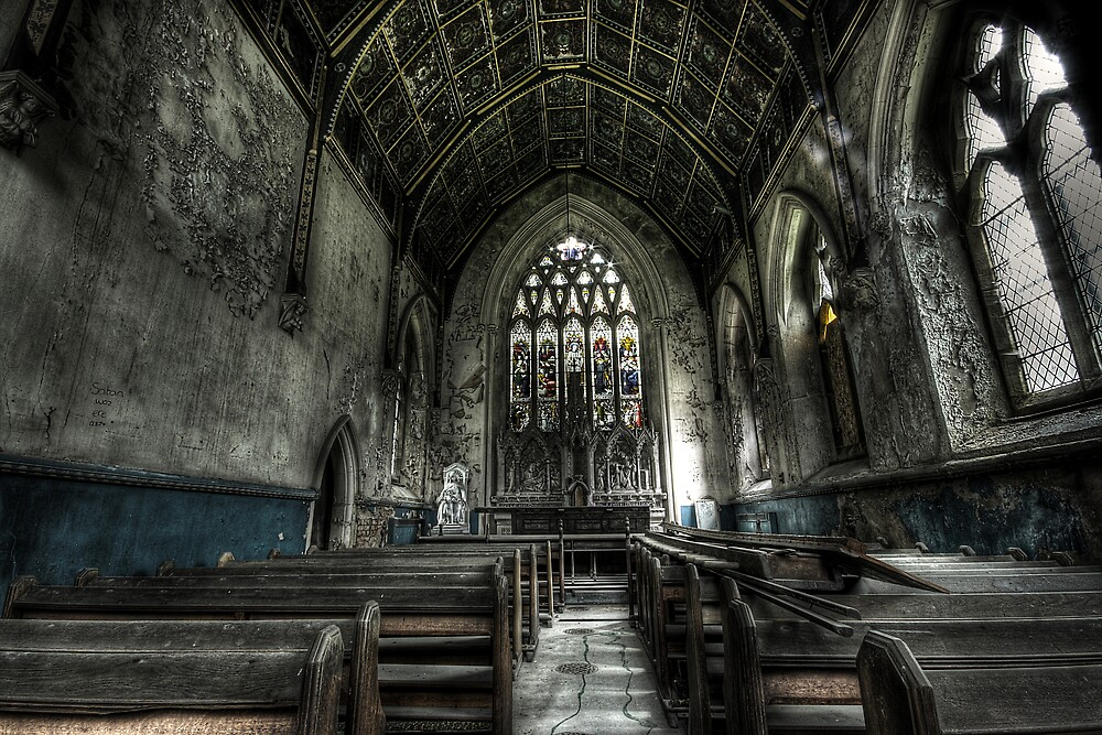 Into the Chapel by Richard Shepherd
