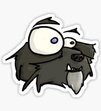 Bacaloot side view Sticker