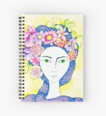 Portrait of Zahra Spiral Notebook
