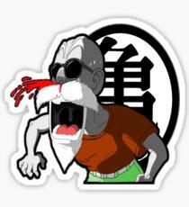 Master Roshi Sticker