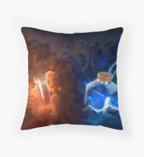 Poison Lightning Throw Pillow