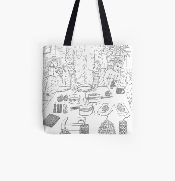 beegarden.works 010 All Over Print Tote Bag