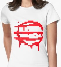 Hotline Miami: 50 Blessings logo Womens Fitted T-Shirt