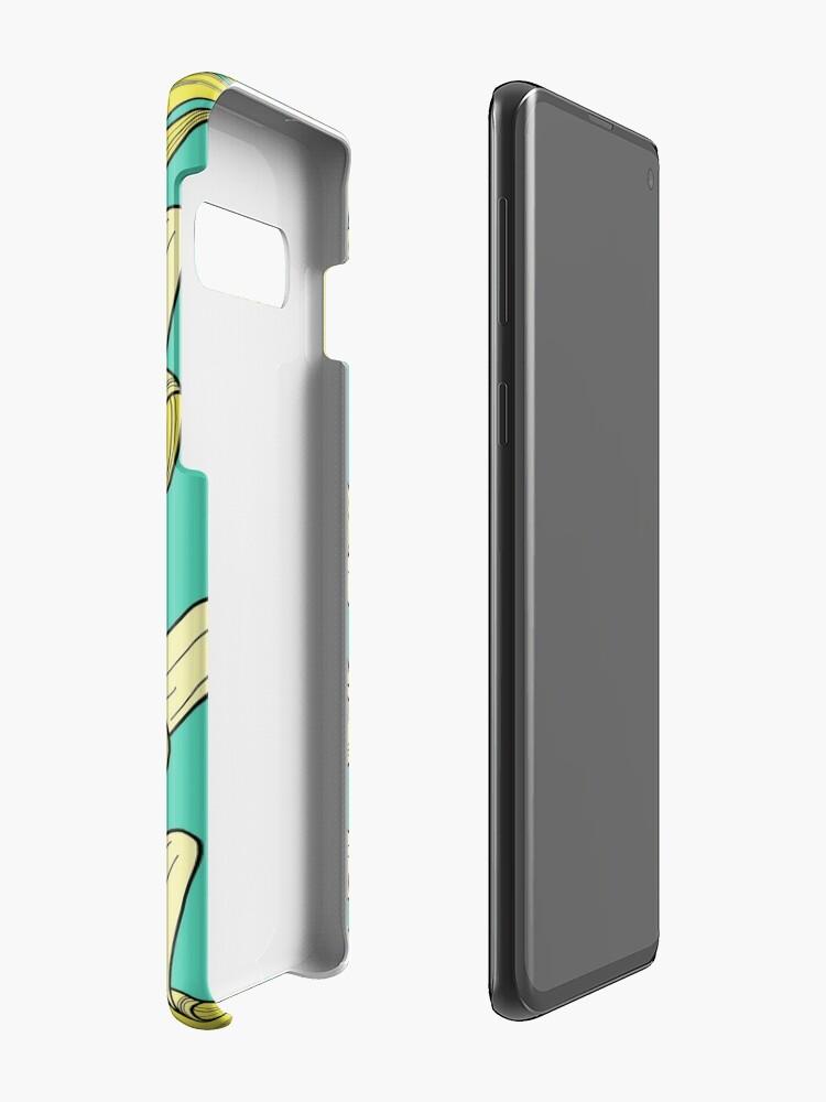 Alternative Ansicht von Banane - Jade Hülle & Klebefolie für Samsung Galaxy