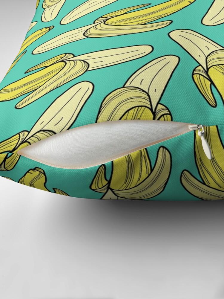 Alternative Ansicht von Banane - Jade Dekokissen