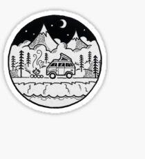 Campingwagen Sticker