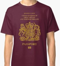 NDVH EU UK Passport Classic T-Shirt
