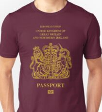 NDVH EU UK Passport Unisex T-Shirt