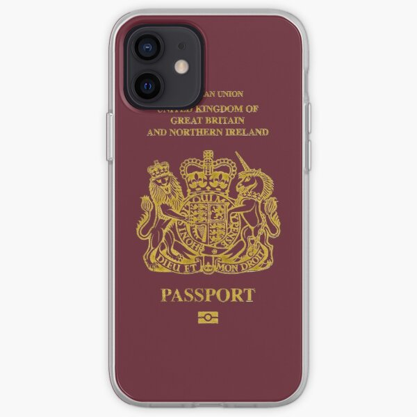 NDVH EU UK Passport iPhone Soft Case
