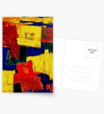 Balance - Equilibrium oil painting Postkarten