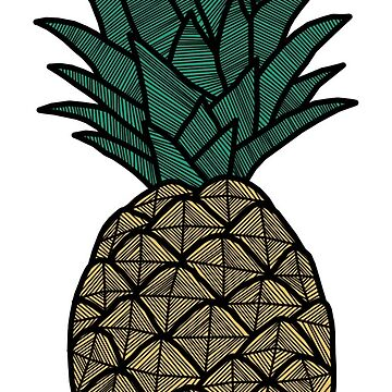 Peach Pink - Pineapple by tosojourn