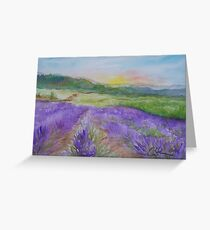 An Evening in Provence WC150601-12 Greeting Card