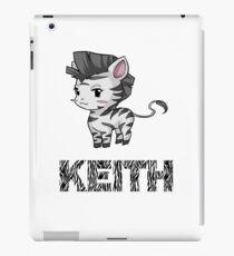 Zebra Keith iPad-Hülle & Klebefolie