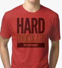 Hard Chocolate Bite Responsibly Tri-blend T-Shirt
