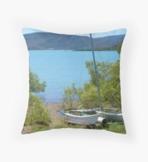 Perfect Anchorage Throw Pillow