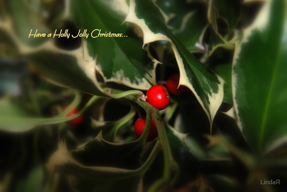 Have a Holly Jolly Christmas... by LindaR