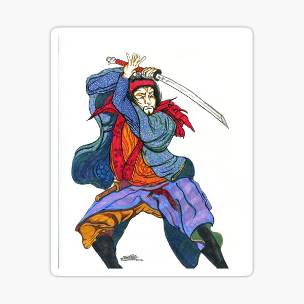 Samurai I Sticker
