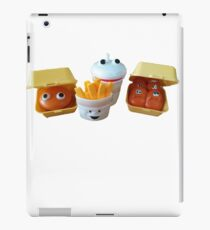 happy meal toys iPad Case/Skin