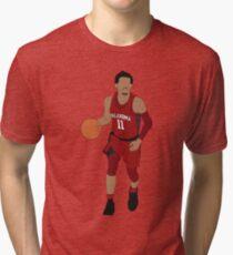 Trae Young Dribbling Tri-blend T-Shirt