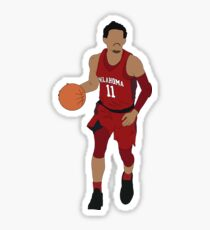 Trae Young Dribbling Sticker