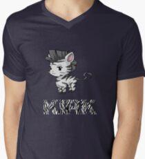Zebra Kirk Men's V-Neck T-Shirt