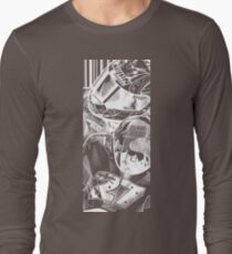 Casey Stoner White- Large Print T-Shirt
