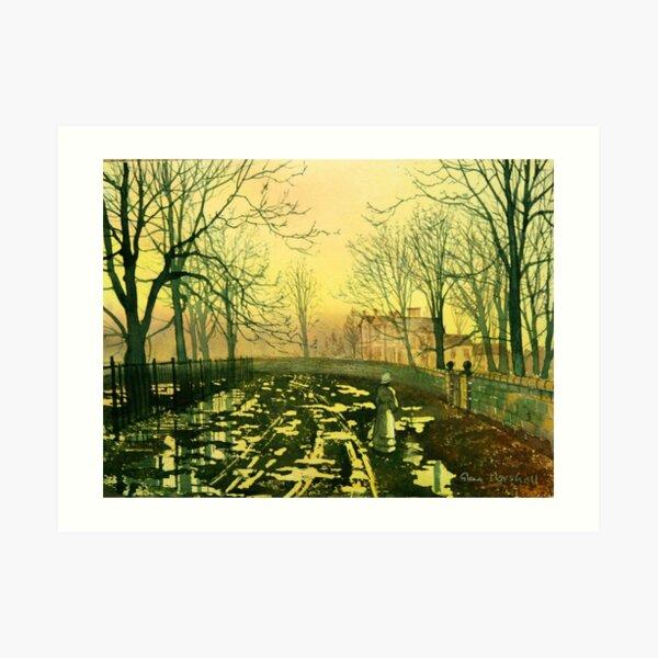 150 Years Ago Today Art Print