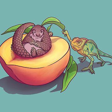 ¡Peach-a-boo! de ElinJ