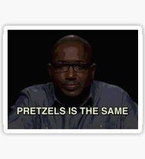 Pretzels is the same Sticker