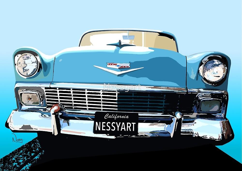 Chevy by Nessyart
