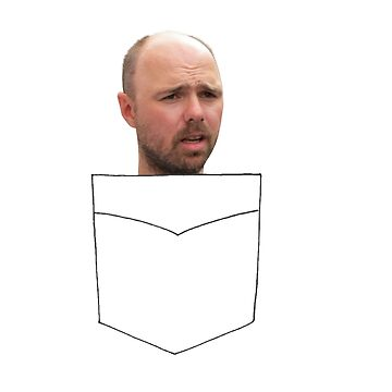 Karl Pilkington in a pocket by pilky01