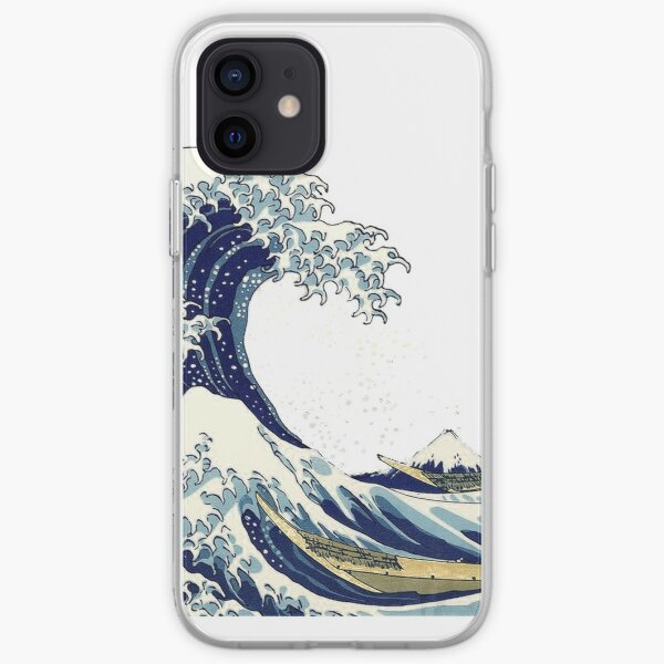 The Great Wave off Kanagawa by Hokusai iPhone Soft Case