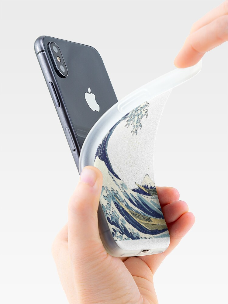 Alternate view of The Great Wave off Kanagawa by Hokusai iPhone Case & Cover