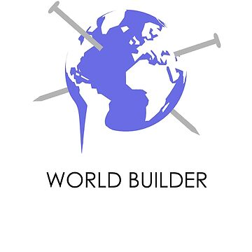 World Builder Black by Oomazing
