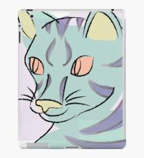Pastell Katze iPad-Hülle & Skin