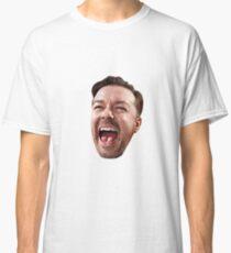 Ricky Gervais' Head Classic T-Shirt