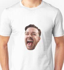 Ricky Gervais' Head Unisex T-Shirt