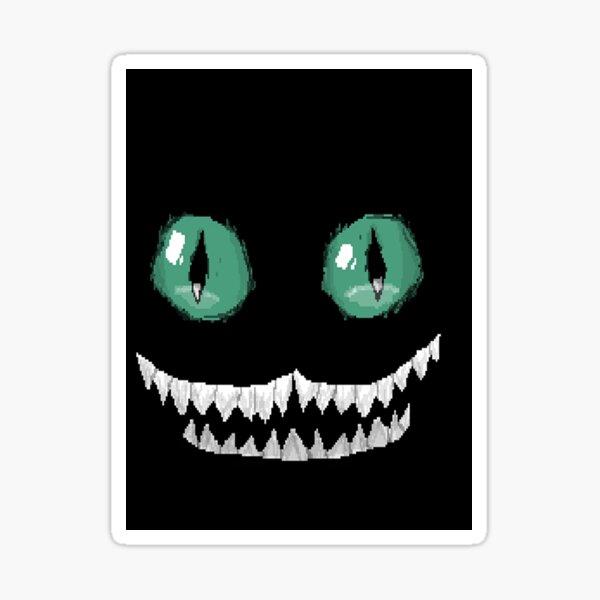 Spooky glow in the dark Sticker