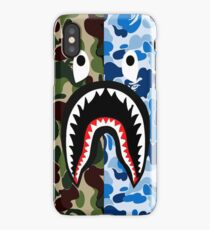 Bathing Ape Blue Shark iPhone Case/Skin