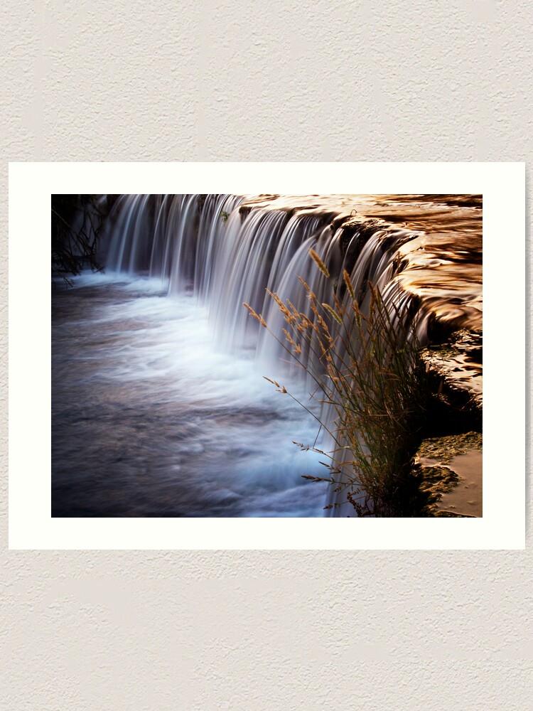 Alternate view of waterval3 Art Print