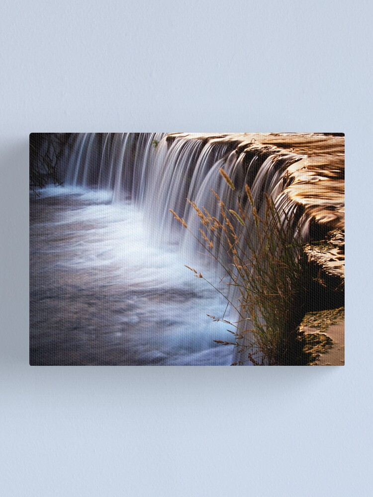 Alternate view of waterval3 Canvas Print