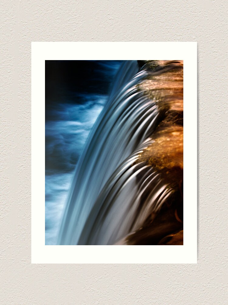 Alternate view of waterfall4 Art Print