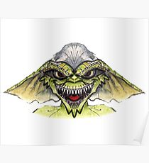 Gremlin's Stripe (Specially Detailed) Poster