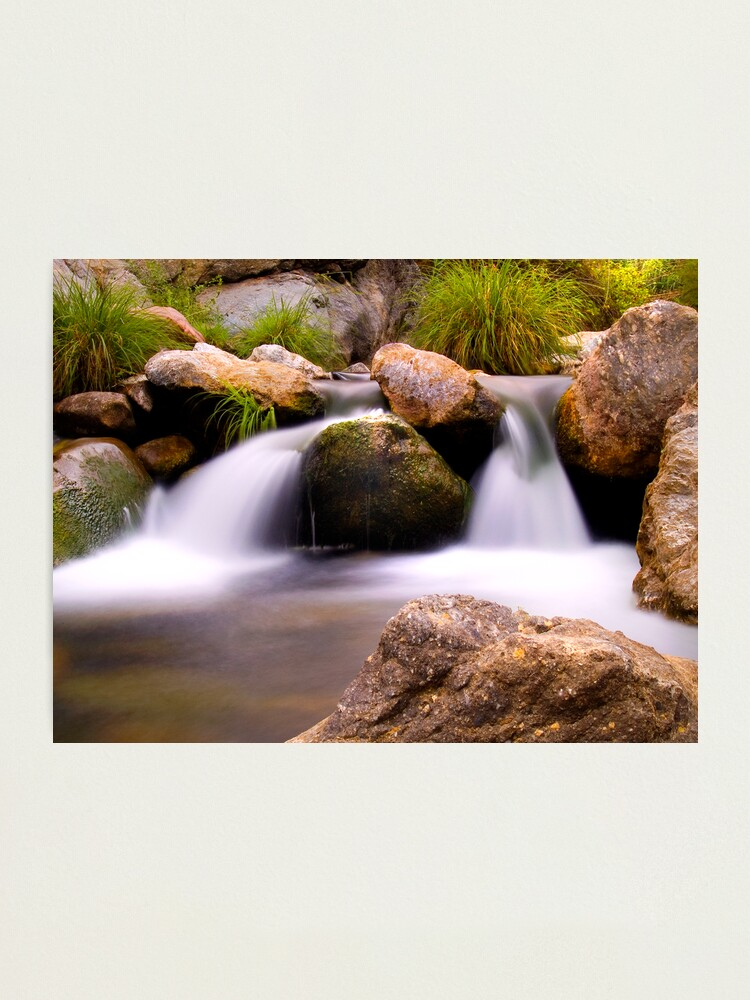 Alternate view of Waterfall 8 Photographic Print
