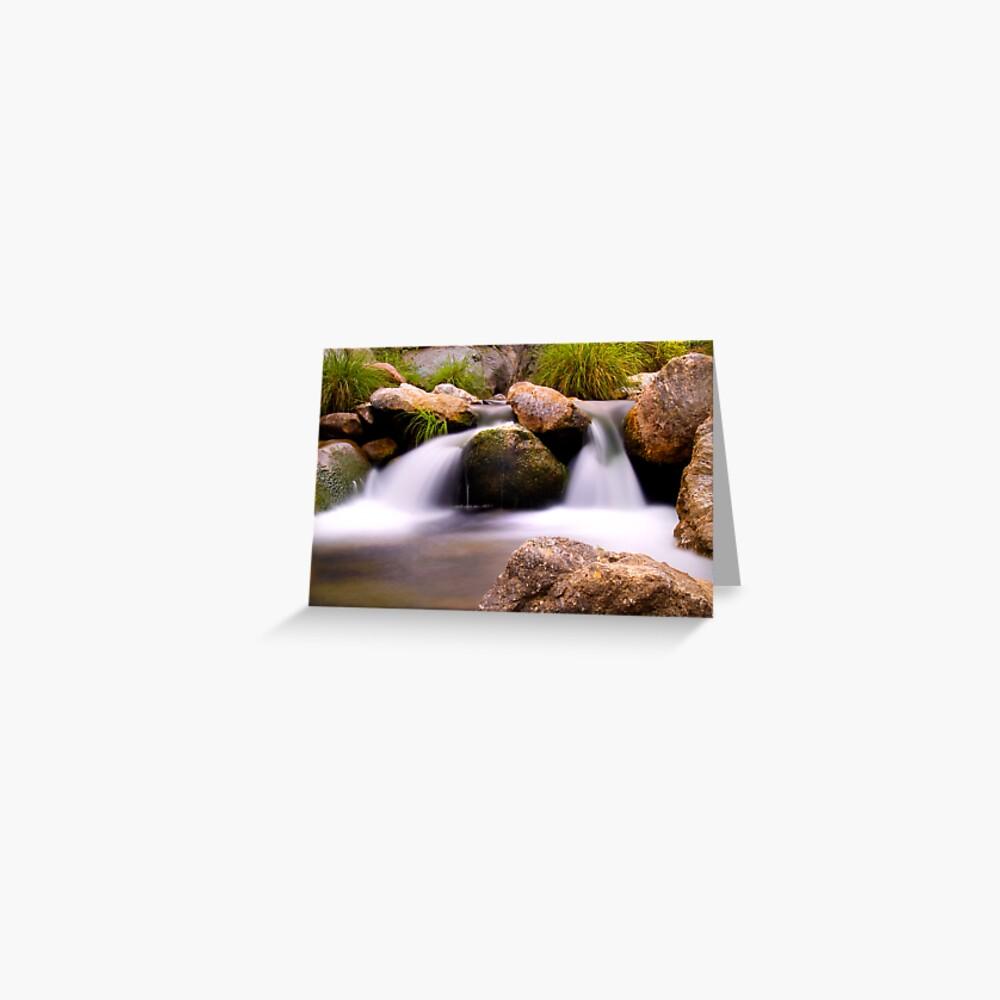 Waterfall 8 Greeting Card