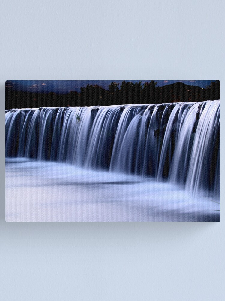 Alternate view of Waterfall 7 Canvas Print