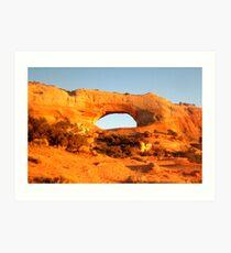 Natural Sandstone Arch  Art Print