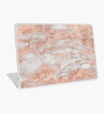 Martino rose gold marble Laptop Skin