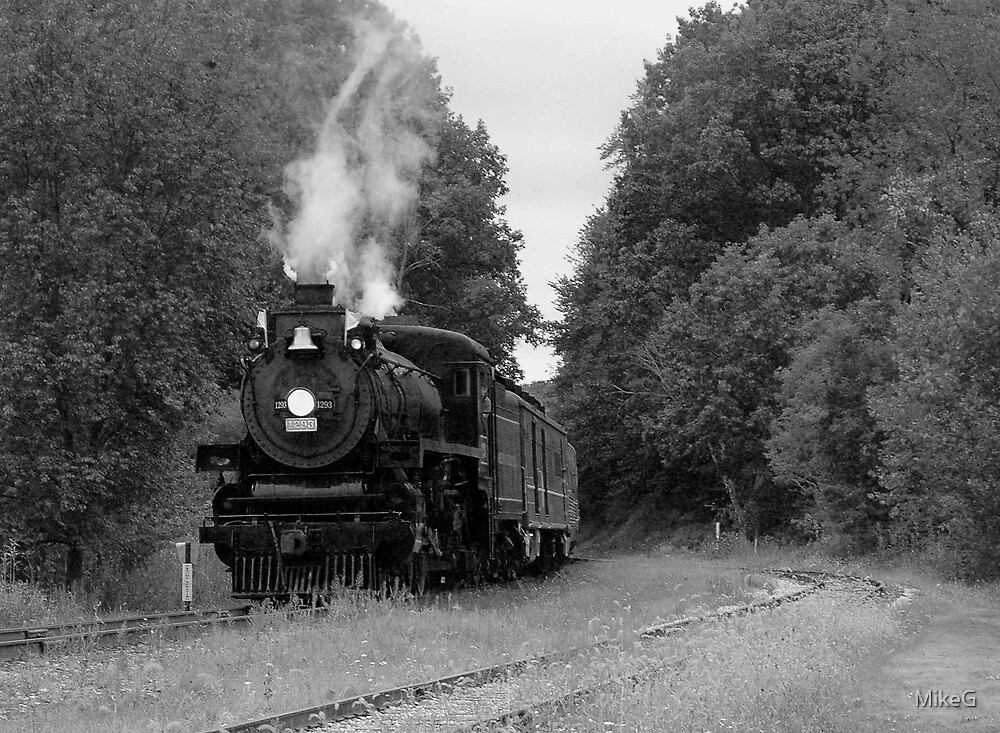 Steam Train Comin' by MikeG